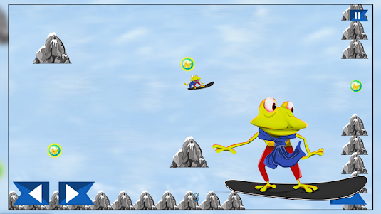 Super Froggy Ski : Snow Fun + 1.0 screenshot 10