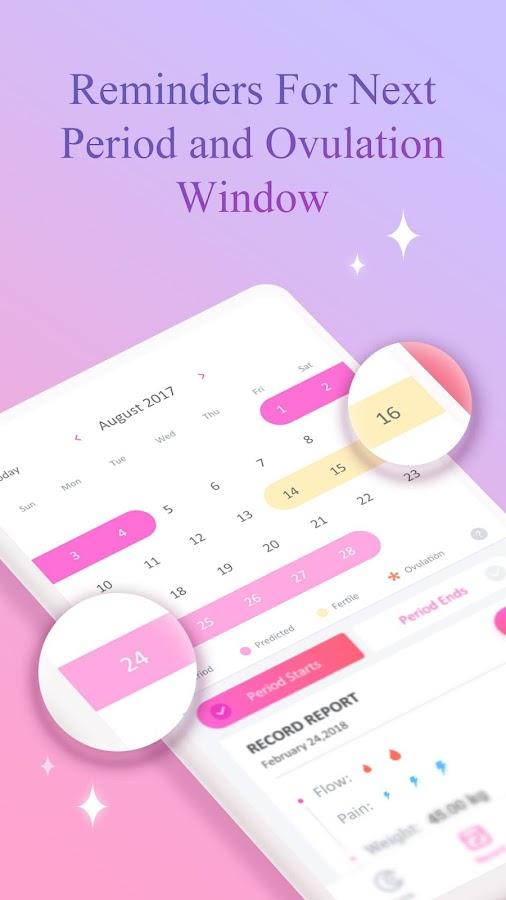 Luna- Period Tracker, Period Diary, Ovulation app 1 4 0 APK
