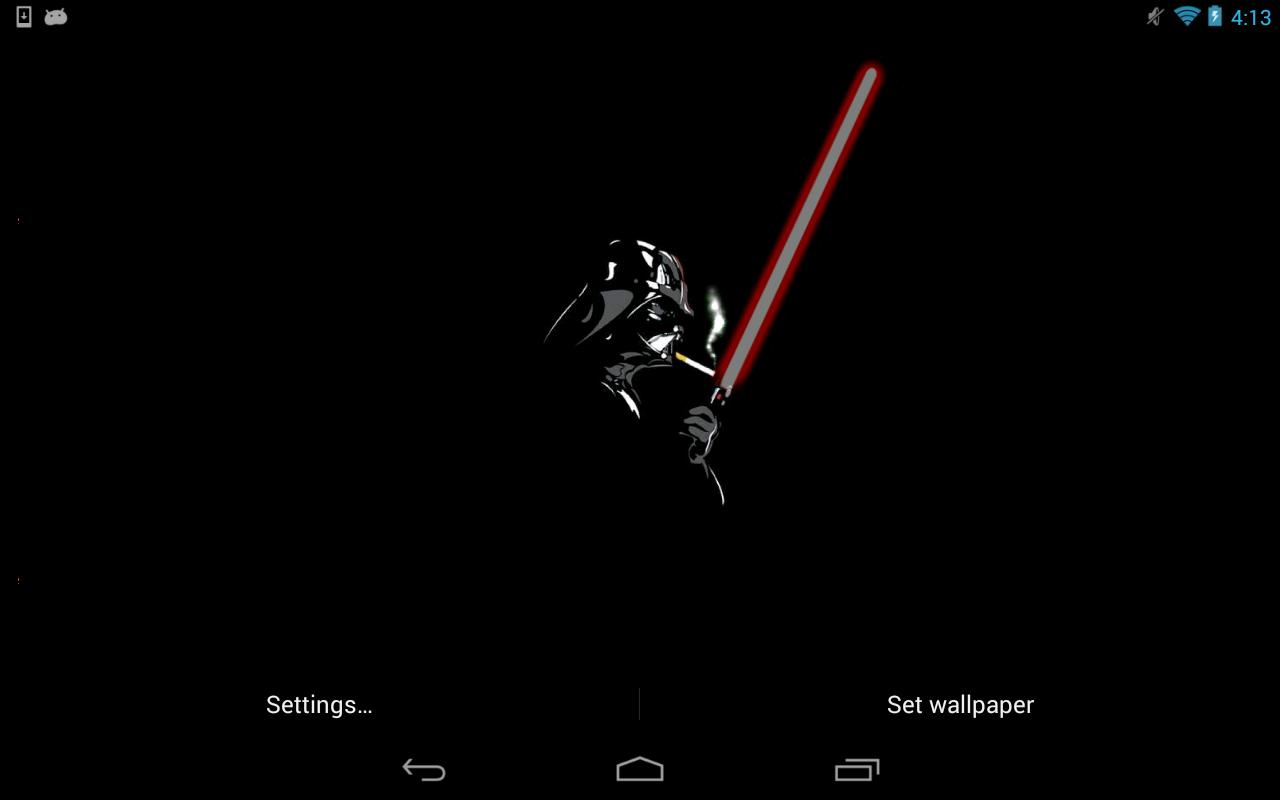 darth vader live wallpaper 3.0 apk download - android