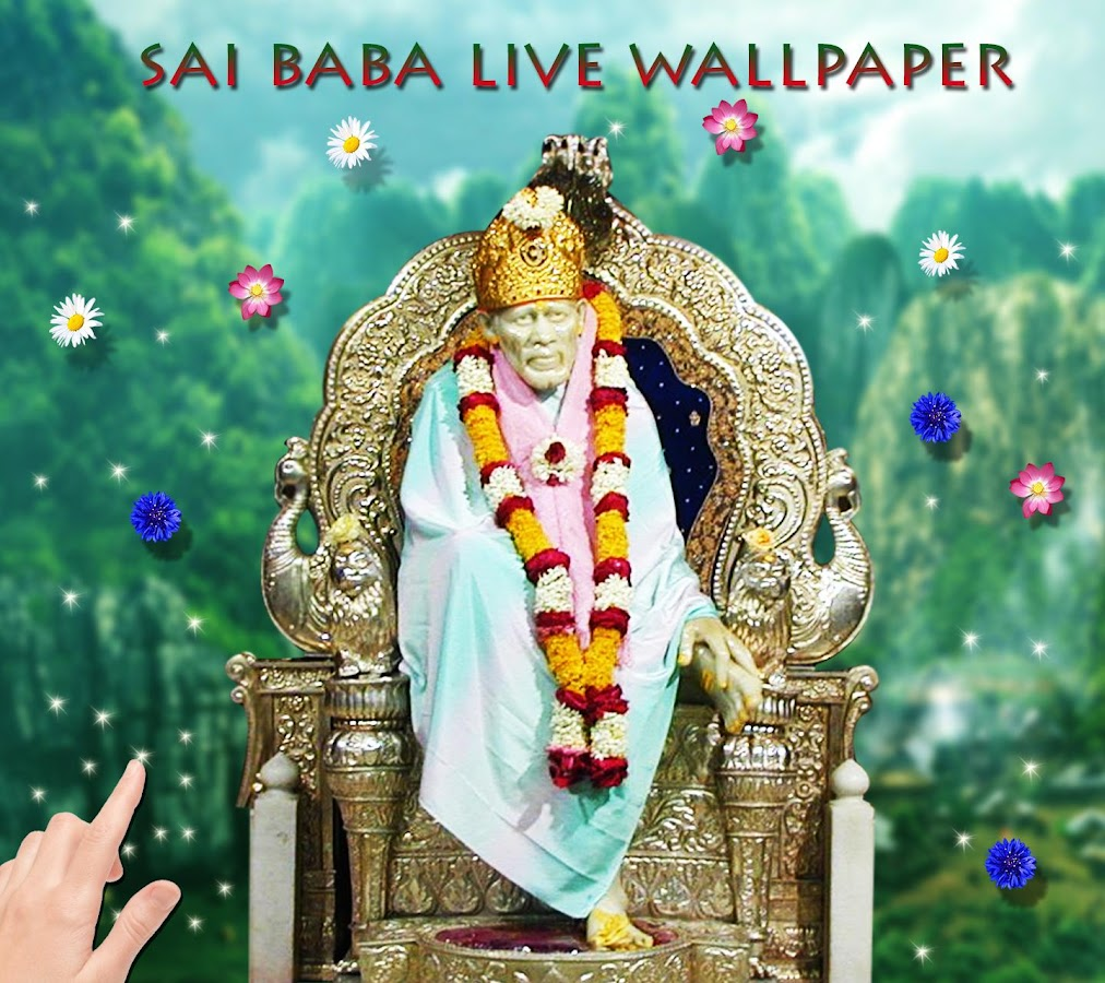 Wallpaper downloader app -  Sai Baba Live Wallpaper 1 2 Screenshot 8