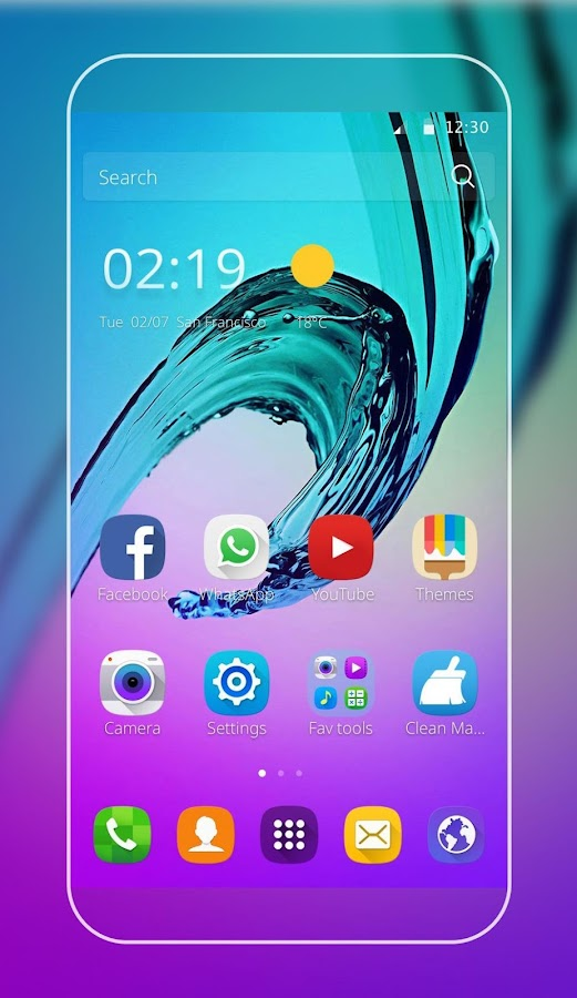 Theme for Galaxy Note 6 1 1 11 APK Download - Android