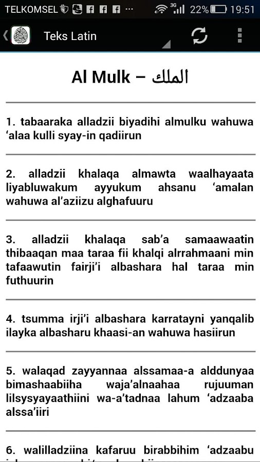 Surah Al Mulk Terjemahan 10 Apk Download Android Boeken