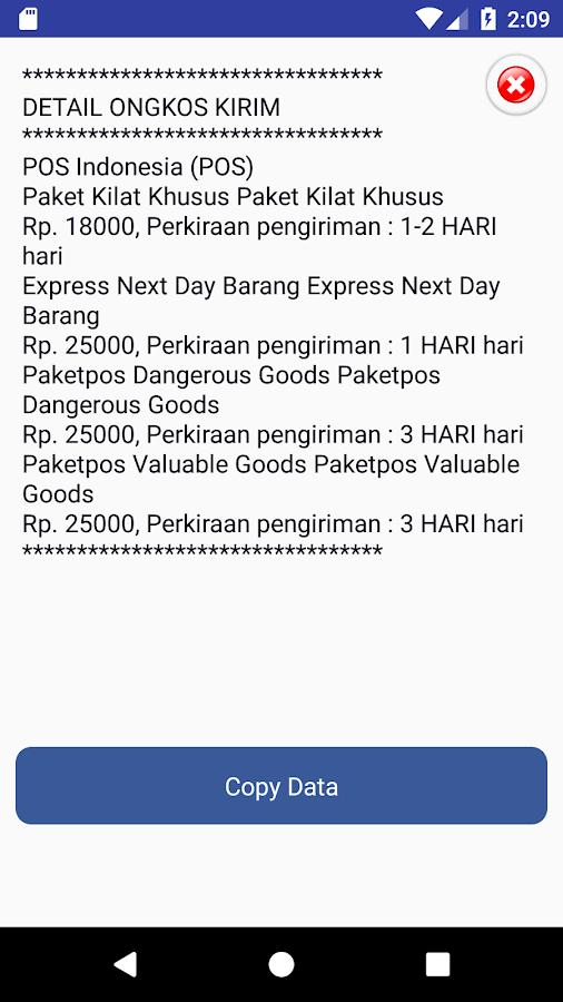 Plugin Ongkos Kirim JNE Pos Tiki JampT Wahana