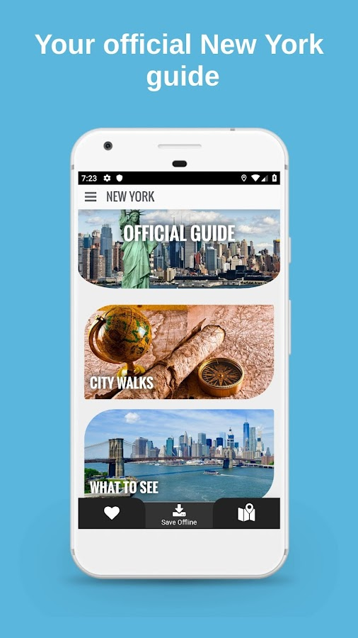 Offline Map Of New York For Iphone.New York City Guide Offline Maps And Tours 1 29 8 Apk Download