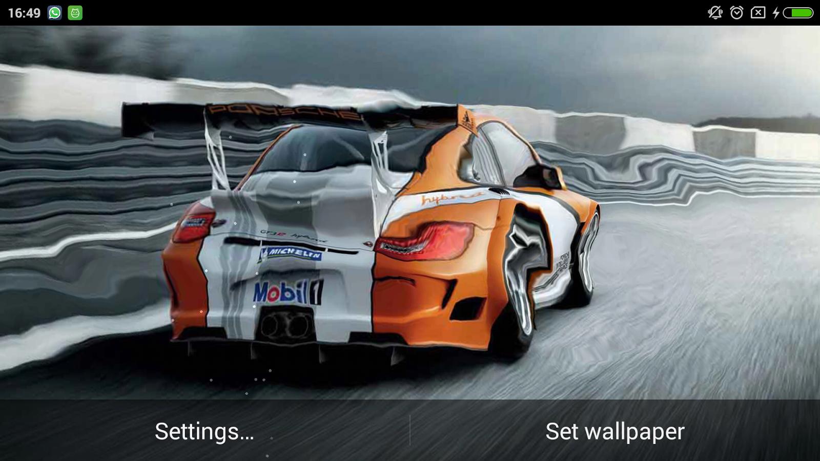 3d Car Ripple Live Wallpaper 1 1 Apk Download Android