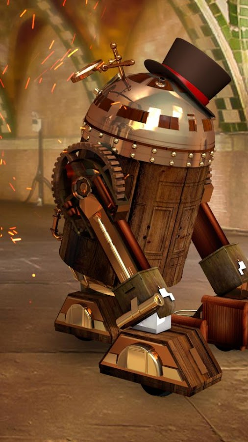 R2D3 Steampunk Live Wallpaper 1.0 APK Download - Android ...