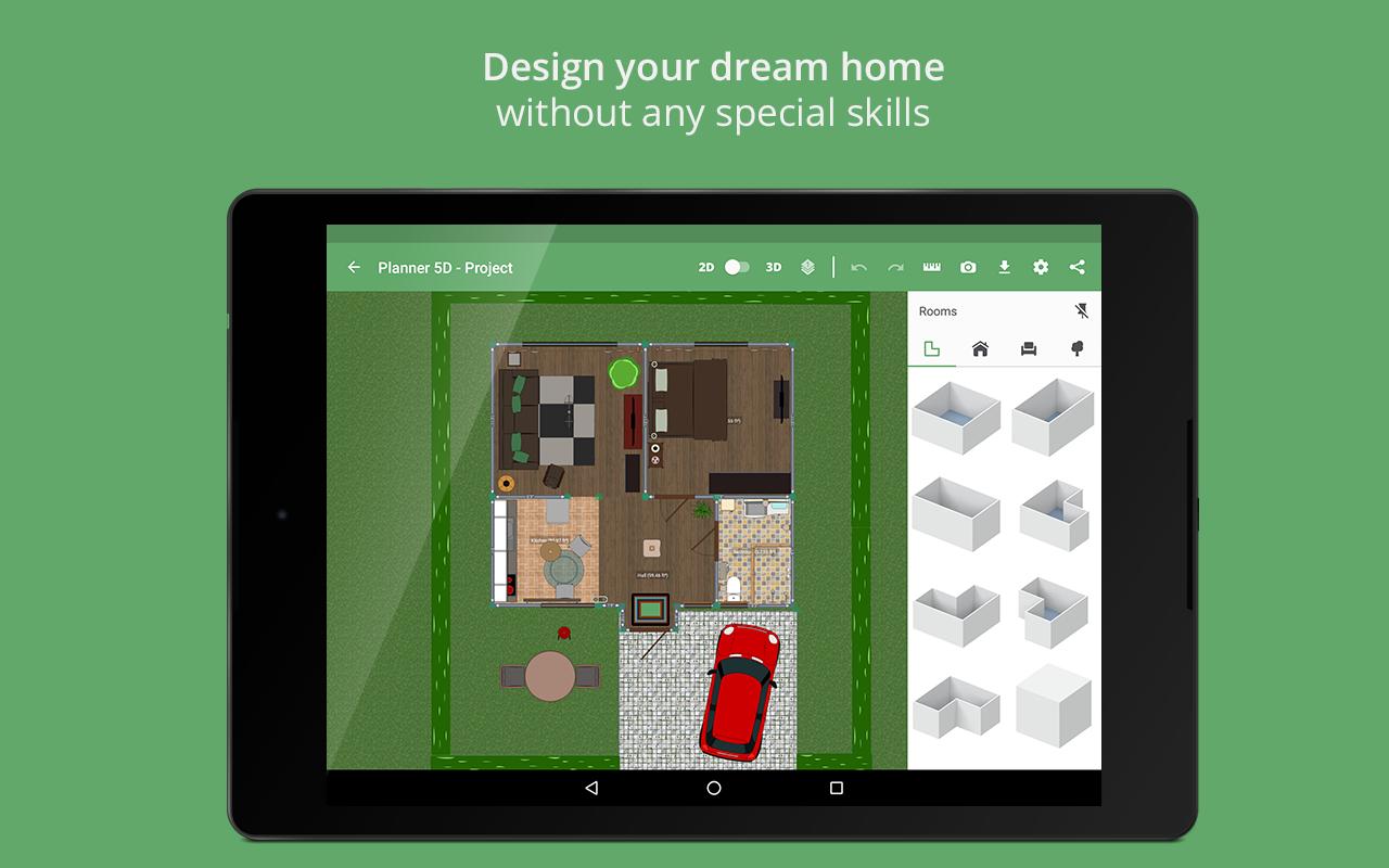 Planner 5d home interior design creator for Home design 5d