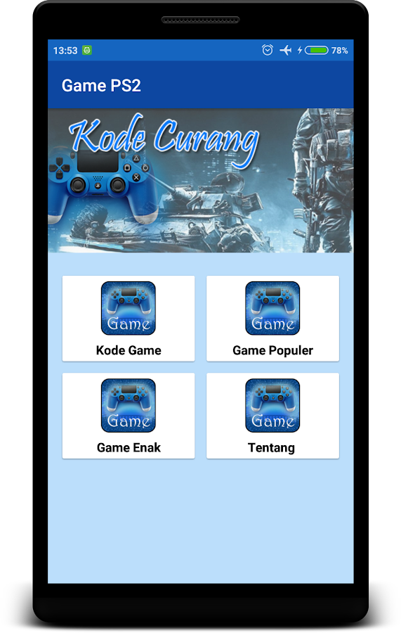 Kode Game Ps2 Terlengkap Offline 1 0 1 Apk Download Android Books