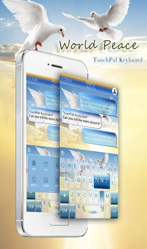 d543fd4bae8 TouchPal World Peace Theme 6.3.25.2019 APK Download - Android ...