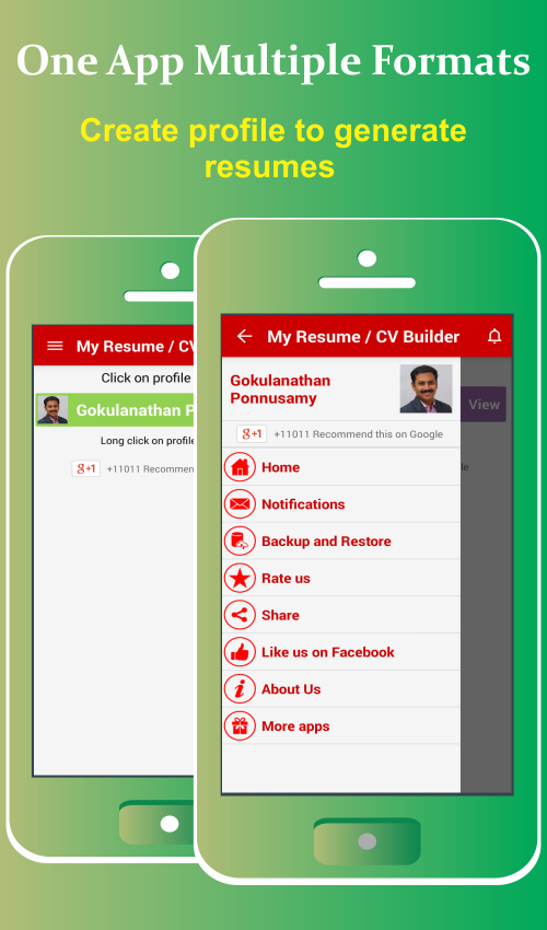 my resume builder cv free jobs 4 3 6 apk download android