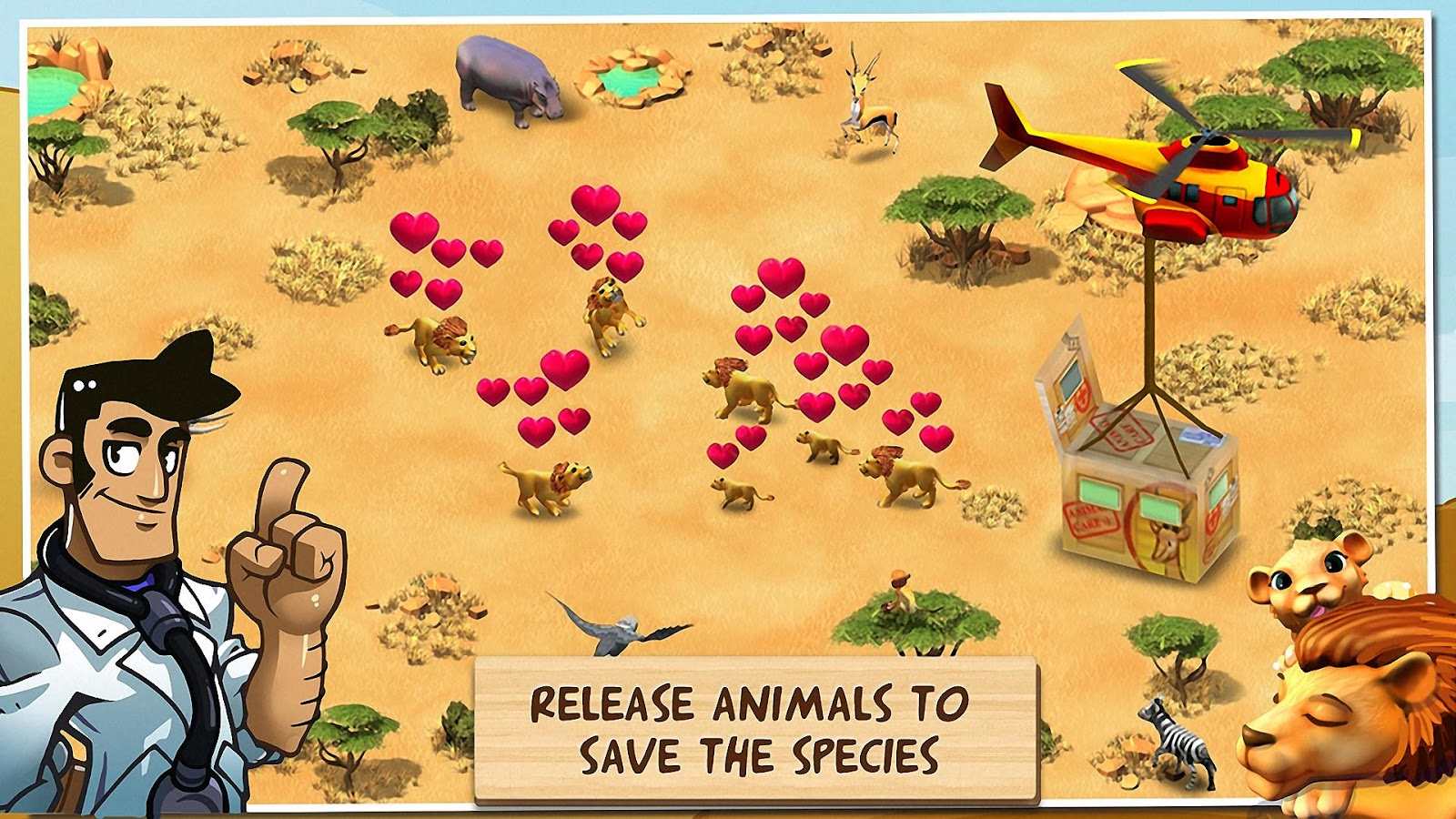 Wonder Zoo Animal Rescue Apk Download Android Casual