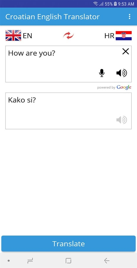 Croatian English Translator 1 0 APK Download - Android Books
