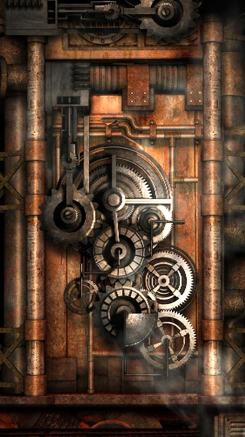 Steampunk Live Wallpaper Gears 80 APK Download Android