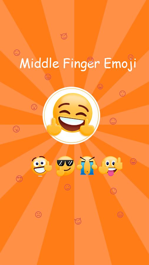 Middle Finger Emoji Sticker 1 5 9 APK Download - Android Social