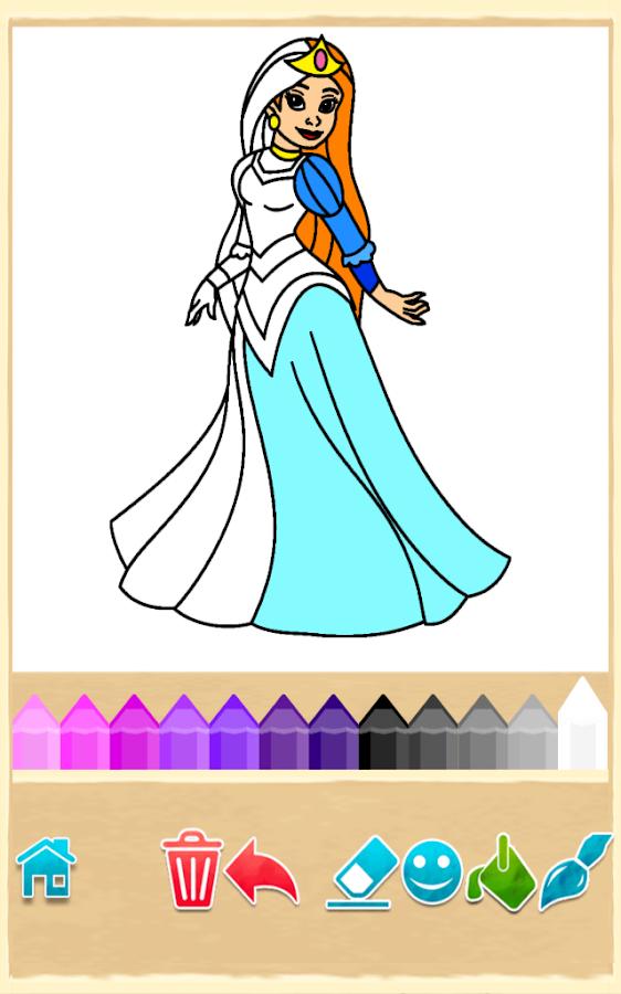 Princess Coloring Game Apk Download Android Educational