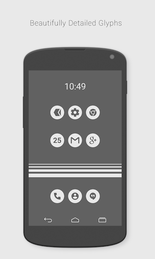 Flatcons White Icon Pack 1 9 8b Apk Download Android