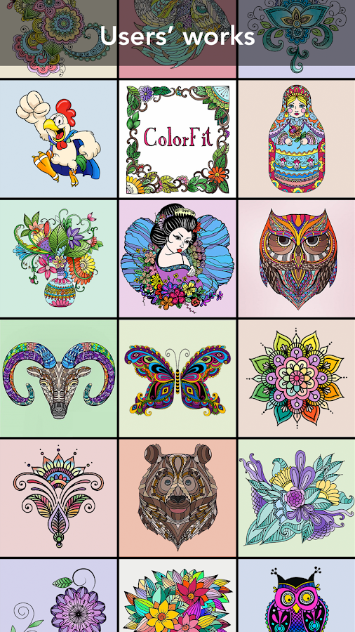 Coloring Book For Family 292 Screenshot 3