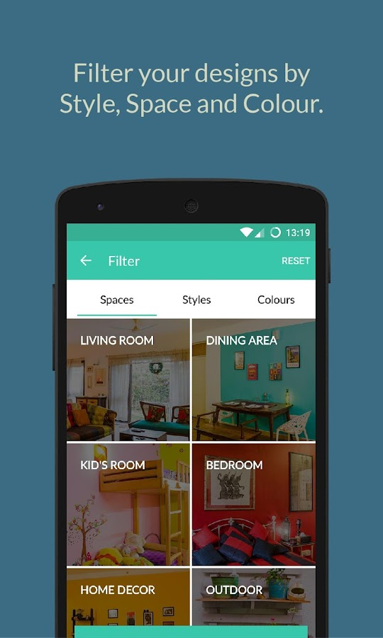 Houzify interior design ideas 1 apk download for Houzify home designs