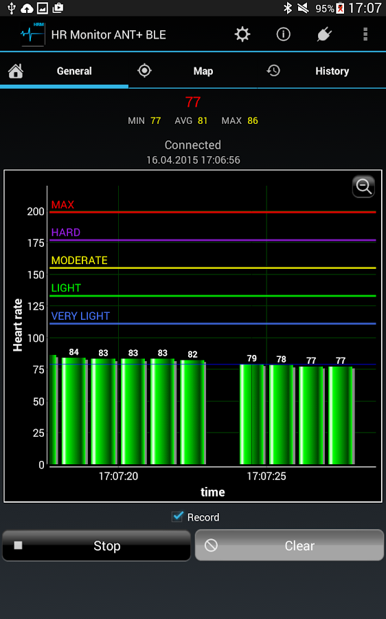 Heart Rate Monitor ANT+ BLE 3.0 APK Download