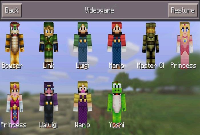 how to download mcpe skins