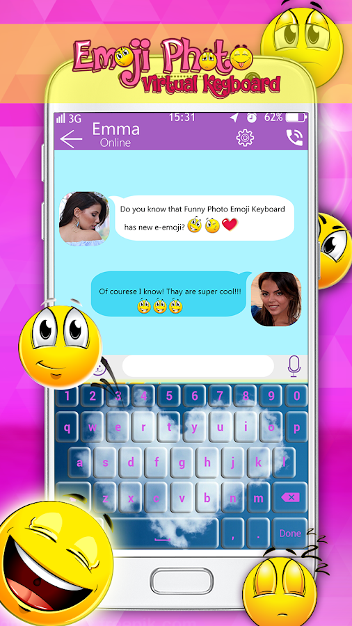Emoji Photo Virtual Keyboard 2 0 APK Download - Android