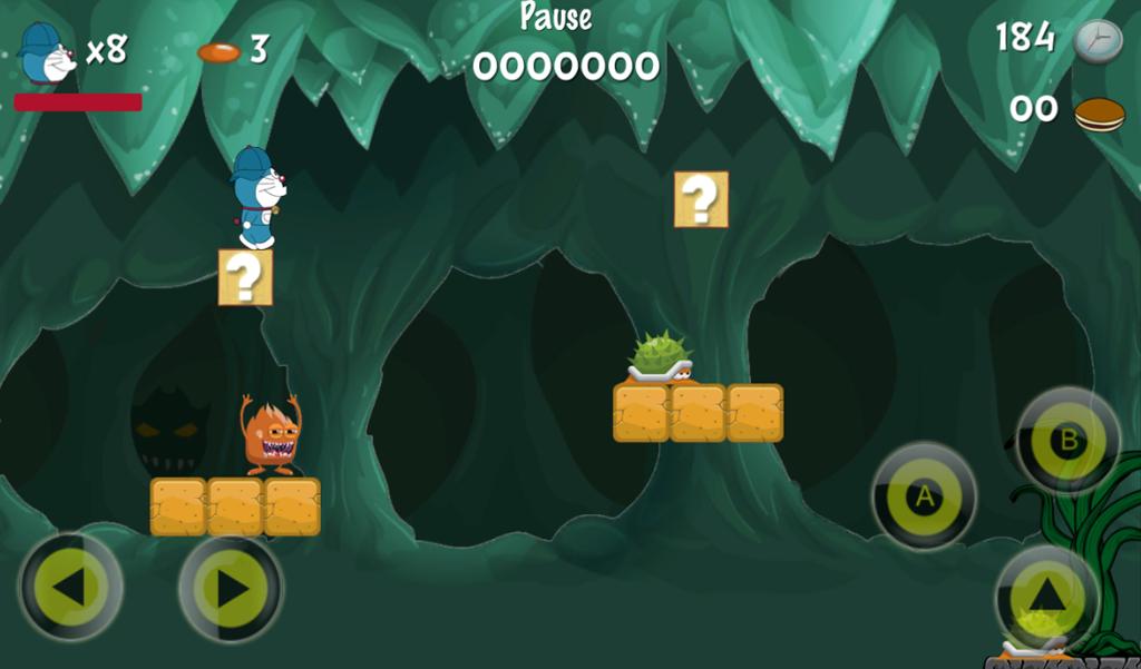 Super Jungle Doraemon Adventures Game 1 0 APK Download