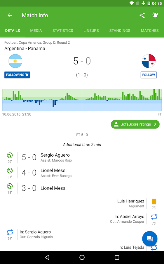 SofaScore Live Score APK Download - Android Sports Games