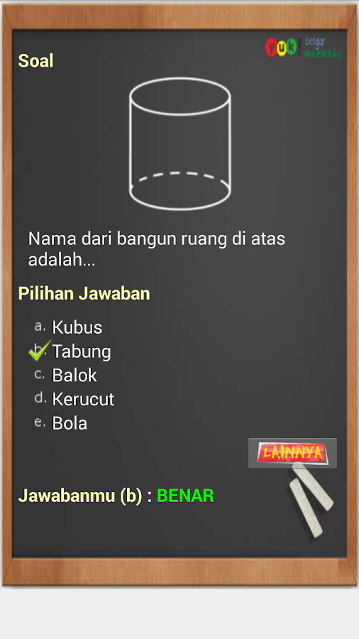 ... Bank Soal Matematika 4 SD 1.6 screenshot 5 ...