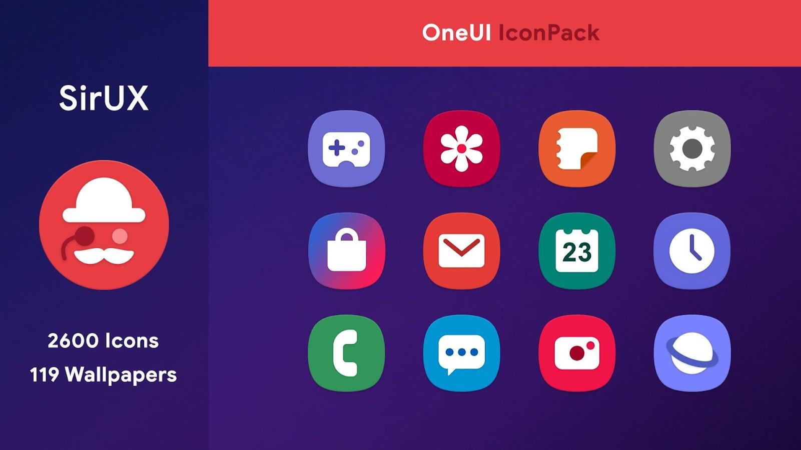 دانلود OneUI - S10 Icon Pack 1 0 6 APK - برنامه های شخصی سازی