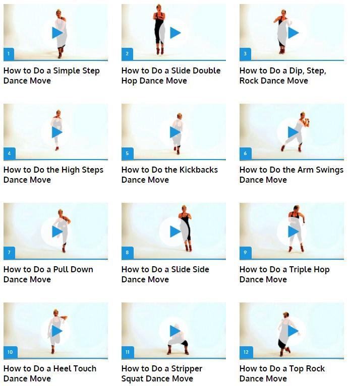 It's just a picture of Universal Printable Dance Steps