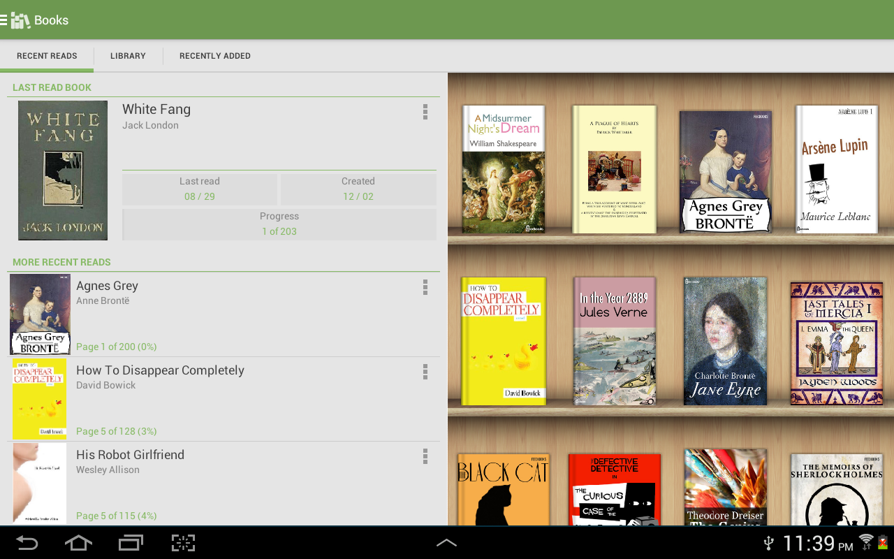 Aldiko Book Reader 3039 Screenshot 8