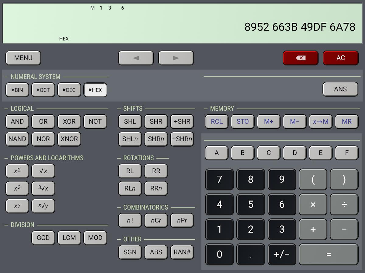 scientific calculator app apk