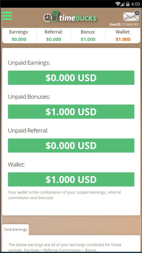 دانلود TimeBucks Make Money 1 0 APK - برنامه های ابزار