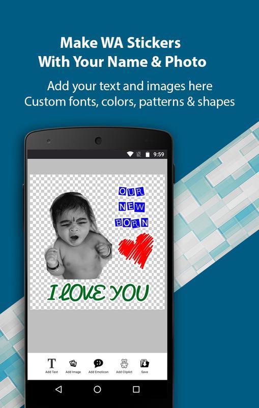 دانلود Stickers Maker for WhatsApp - Create Sticker 3 21 APK