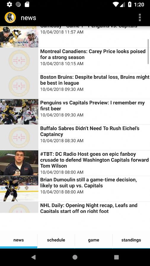 3129ecf1e89b cloud download Download APK File · Pittsburgh Hockey - Penguins Edition  4.0.2 screenshot 1 ...