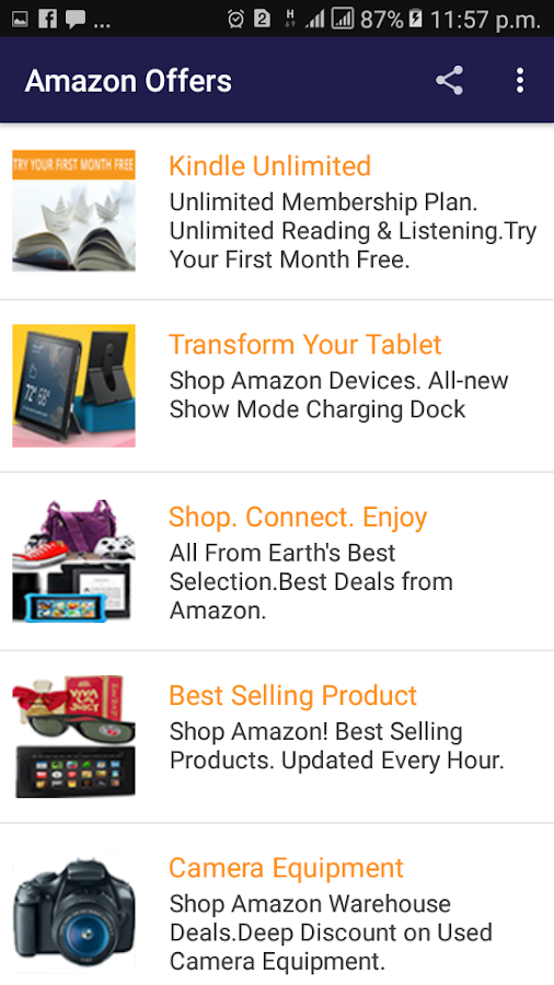 5aab7a27 ... Amazon Offers Best Deals & Discounts Every day 1.0 screenshot 3 ...