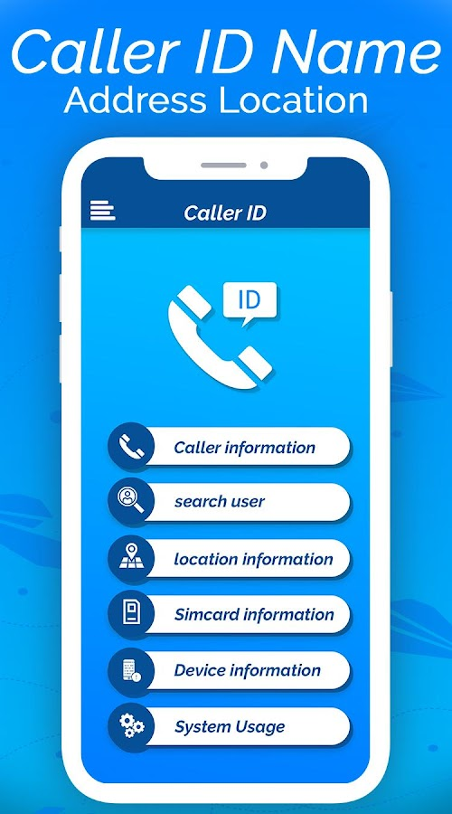Caller ID Name Address Location 1 0 1 APK Download - Android