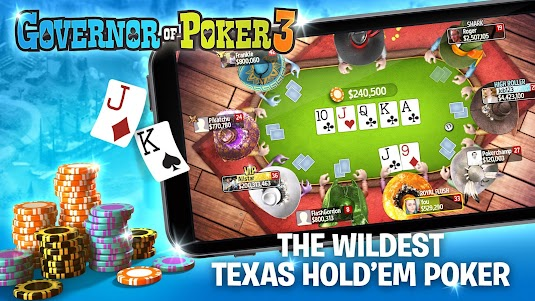 Governor of Poker 3 - Texas Holdem Poker Online 4.4.3 screenshot 2
