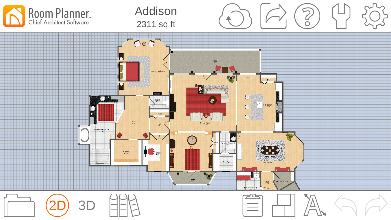 Room planner home design 4 3 0 apk download android for Room planner software free download