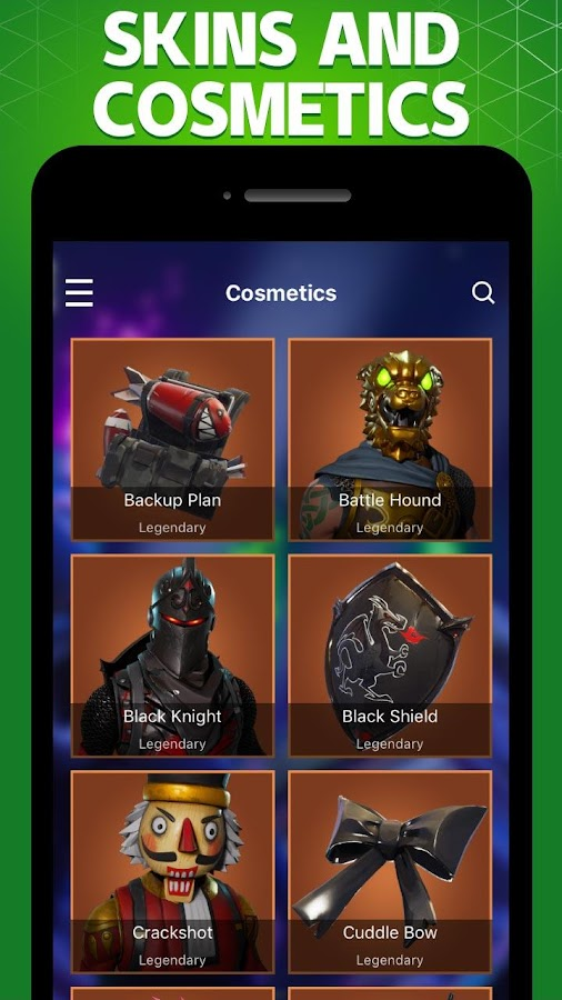 Stats Tracker For Fortnite Chests Map Weapons 1 2 1 Apk Download
