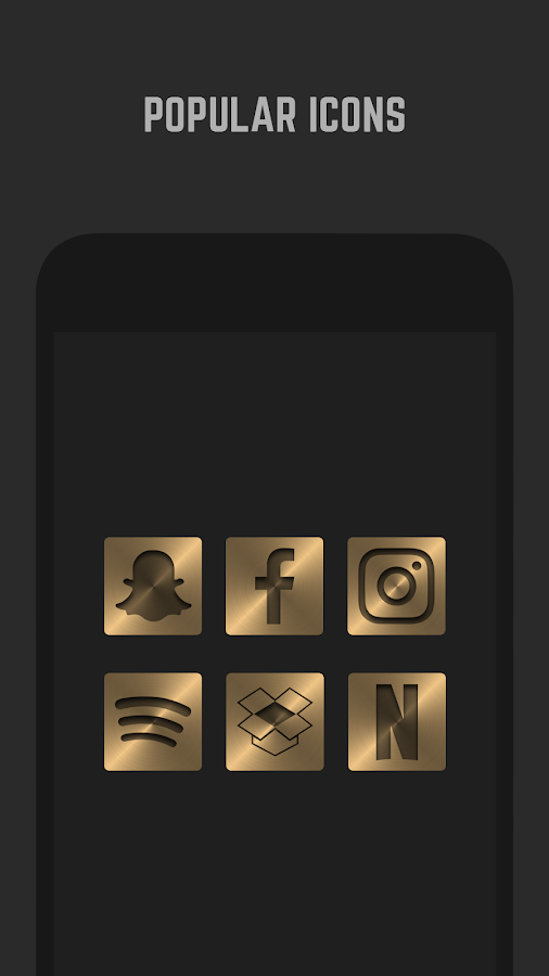 Gold Icon Pack  Screenshot