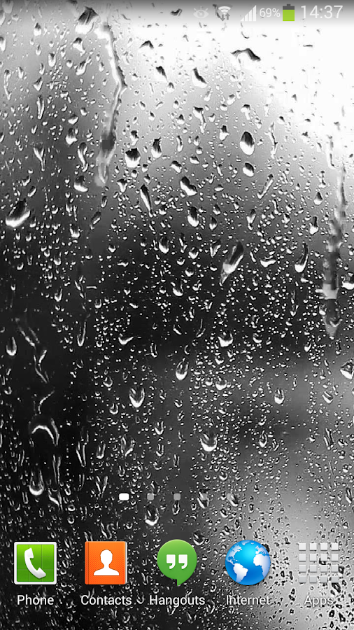 rainy live wallpaper apk