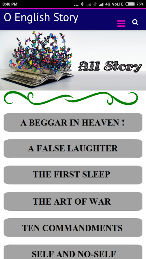 O English Story 2 0 APK Download - Android Books & Reference Apps