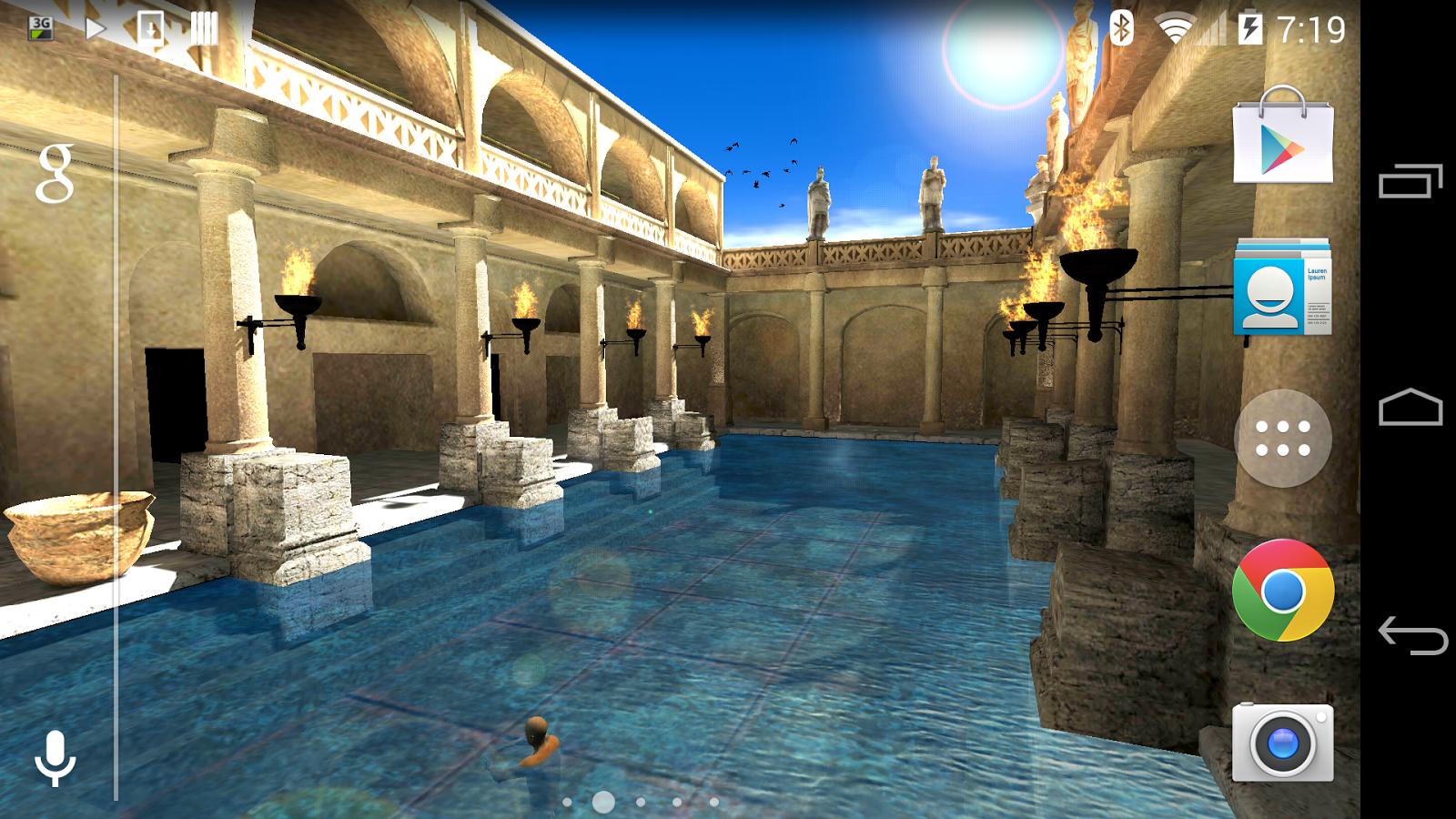 Bathroom specialists product gallery baths downloader -  Roman Bath 3d Live Wallpaper 1 0 0 Screenshot 11