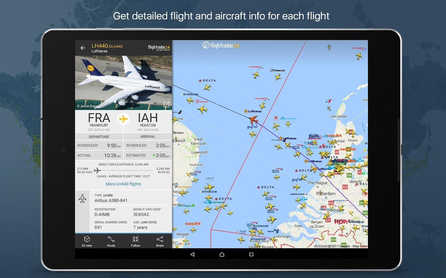 Flightradar24 Flight Tracker 7 2 2 Apk Download Android