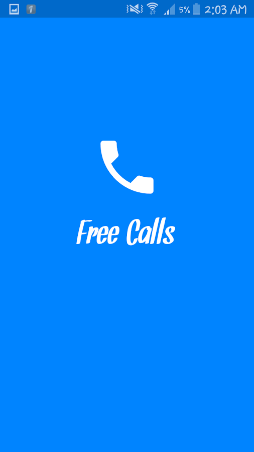 FreeCallNet 1 0 APK Download - Android Communication ئاپەکان