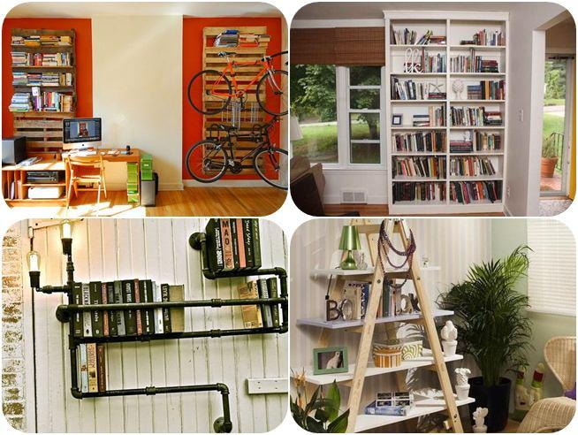 Diy bookshelf ideas 1.0 apk download - android стиль жизни п.
