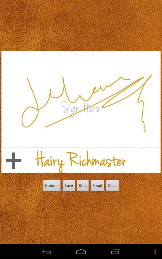 electronic signature creator