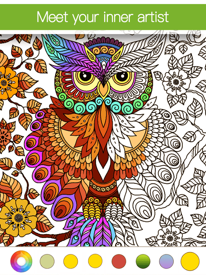 Adult Coloring Book Premium Screenshot 7