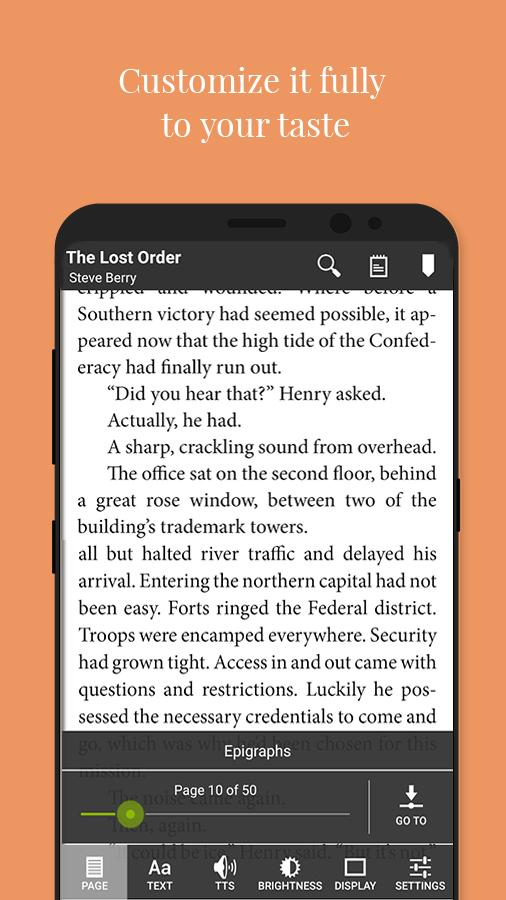 Universal Book Reader 36702 Screenshot 3